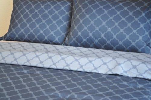 Natural Comfort Luxury Lines Microfiber Reversible Comforter
