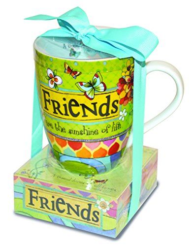 Divinity Boutique 23779 Ceramic Mug and Memo Pad Friends, Multicolor from Divinity Boutique