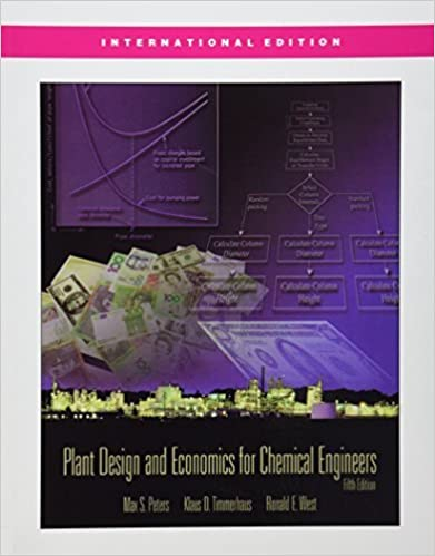 Book Plant Design and Economics for Chemical Engineers (McGraw-Hill Chemical Engineering) by Max S. Peters (2003-01-01)