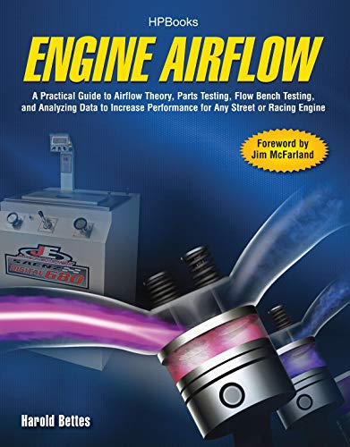 Engine Airflow HP1537: A Practical Guide to Airflow Theory, Parts Testing, Flow Bench Testing and Analy zing Data to Increase Performance for Any Street or Racing Engine by Harold Bettes