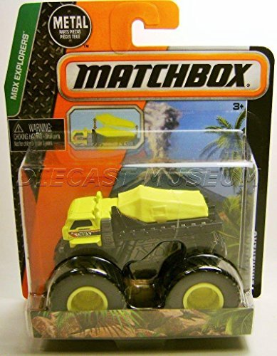 Matchbox Terrainiac Dump Truck MBX Explorers Monster Truck
