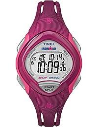 Timex Women's TW5M09000GP Sport Ironman Digital Sleek 30-Lap Pink