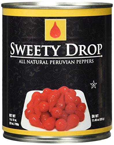 Sweety Drop Miniature Peppers - 28 oz Tin (28 ounce) (Peruvian Sweet Pepper Seeds)