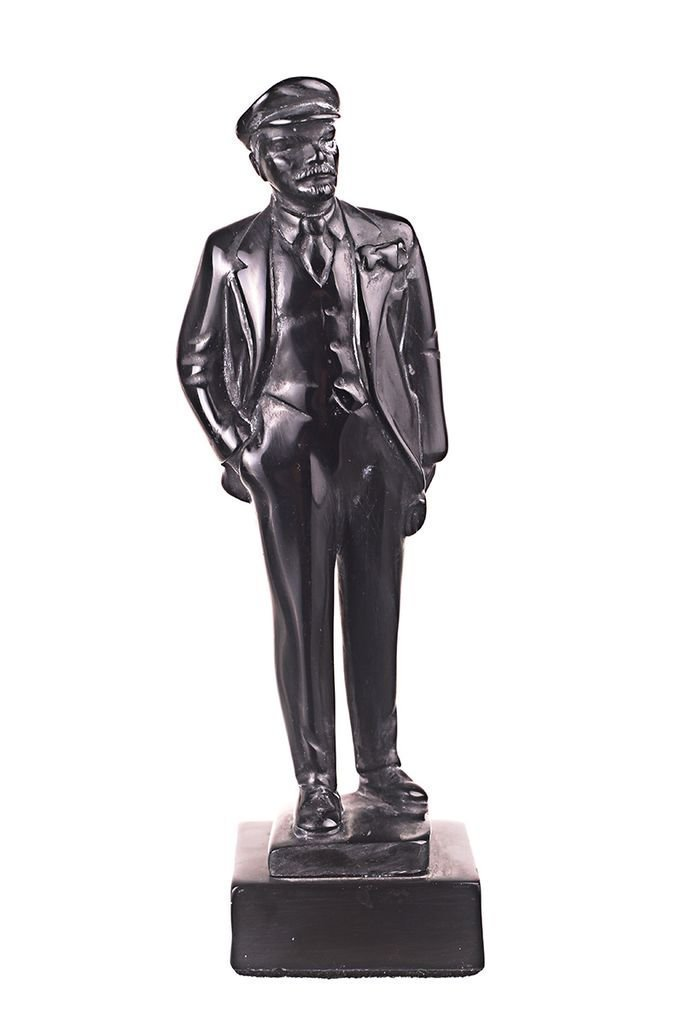 Busto in pietra del leader dell' Unione Sovietica (URSS) Vladimir Lenin, scultura da 17 cm danila2k2