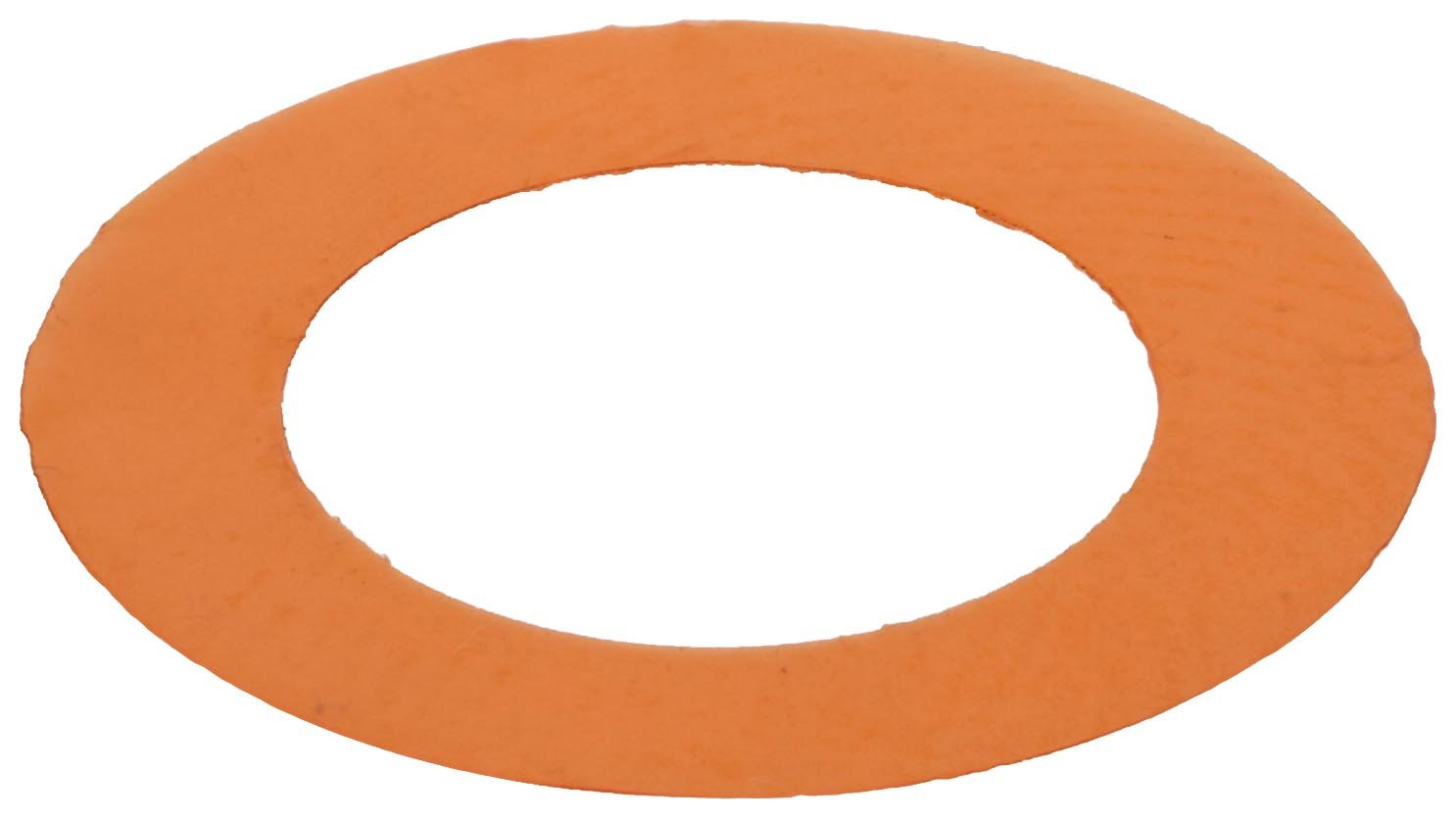 Polyester Round Shim, Amber, 0.001'' Thickness, 3/8'' ID, 5/8'' OD (Pack of 10) by Small Parts