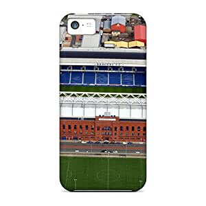 Protection Cases For Iphone 5c / Cases Covers For Iphone(ibrox Stadium Glasgow Rangers 2)