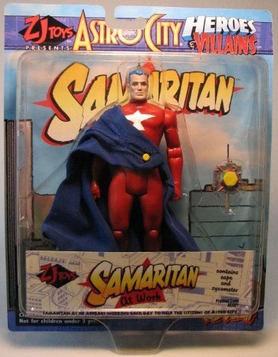 "Toy Vault Astro City Samaritan Comic Book Action Figure Very Rare 7/"""