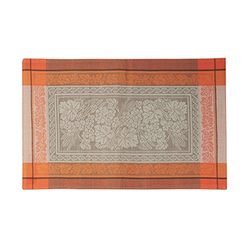C&F Home Grapevine Jacquard Single Placemat Rectangular Placemat