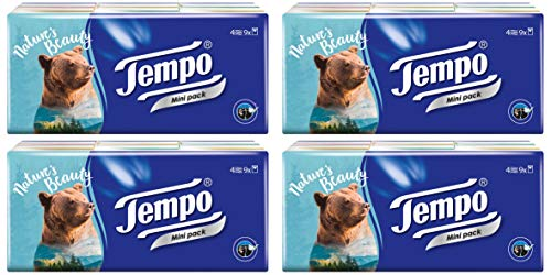 (Tempo Pocket Tissues x 36pcs NEUTRAL Petit)