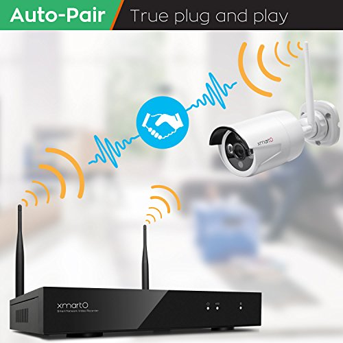 Dream Liner Xmarto 8 Channel 960p Hd Wireless Security