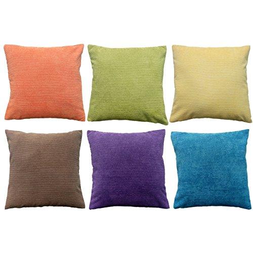Daidu Cotton Modern Decorative Sofa Couch Square Throw Pillo