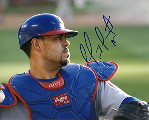 Geovanny Soto Chicago Cubs Autographed Signed 8x10 Photo W/coa - Autographed MLB Photos