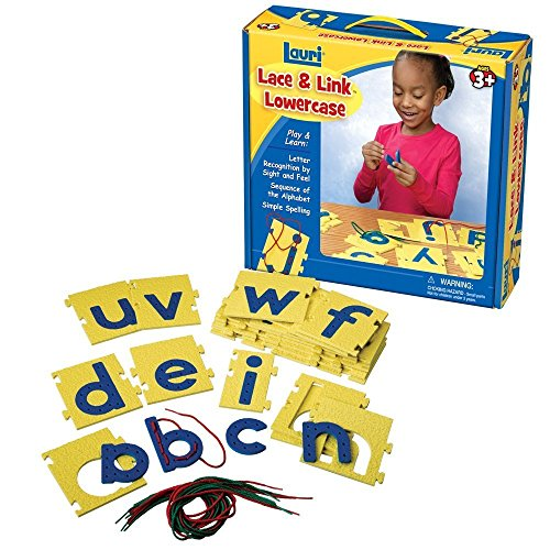 Lauri Lace & Link Letters (Lowercase) (Lowercase Lacing Letters)