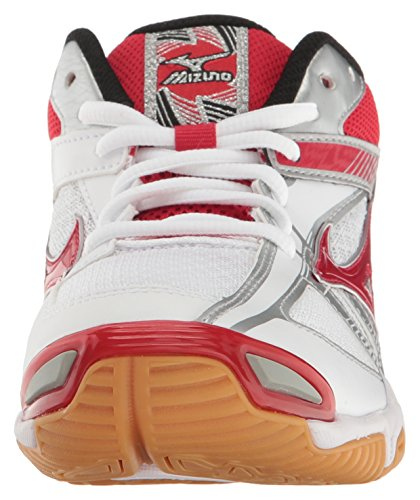 Volleyball White Shoes Wave Women's Bolt Mizuno 6 Red OFgvB