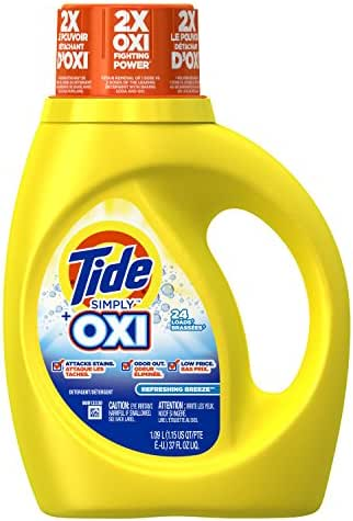 Laundry Detergent: Tide Simply Plus Oxi