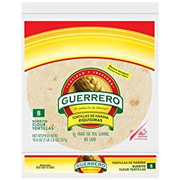 Guerrero Burrito 8ct, 27oz, (2 packages)