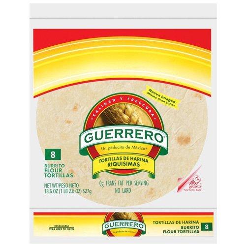 Guerrero Burrito 8ct, 27oz, (2 packages)