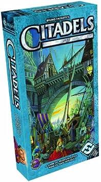Fantasy Flight Games Bruno Faidutti MA04 Citadels - Juego de cartas de estrategia (contenido en inglés, importado de Reino Unido): Amazon.es: Juguetes y juegos