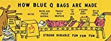 Blue Q Zipper Pouch, Please Don't Fuck With My