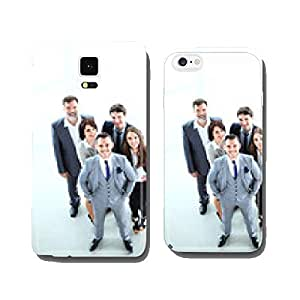 Top view of business people. Happy smiling business team cell phone cover case iPhone6