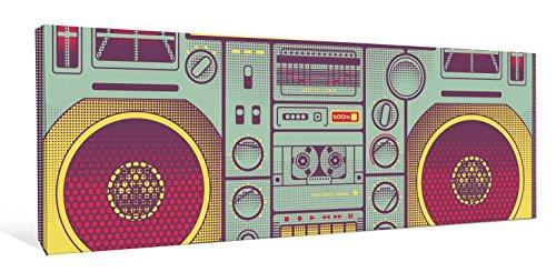 JP London CNVPAN5056 Ghetto Blaster Retro 80s Cassette 2
