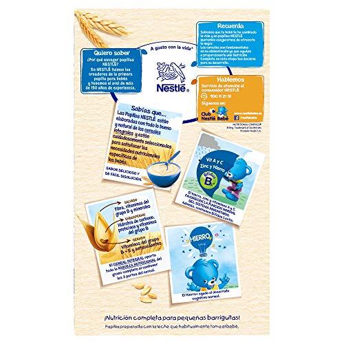 Nestle Papilla 8 Cereales Con Galleta Maria Alimento Para Bebes Paquete De 6x600 G Total 36kg