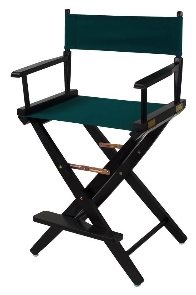 Casual Home Extra-Wide Premium Directors Chair with Black Frame