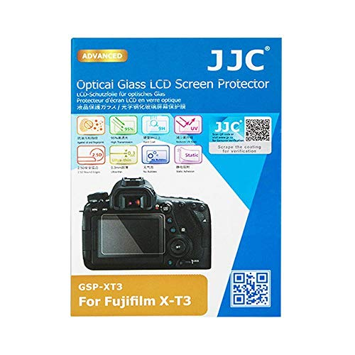 JJC GSP-XT3 0.3mm Optical Glass LCD Screen Cover Protector for Fujifilm X-T3