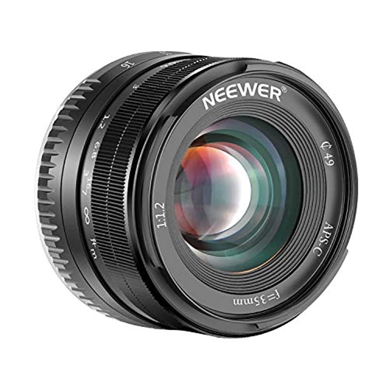 Neewer Fuji 용35mm F1.2 대구경 APS-C 렌즈