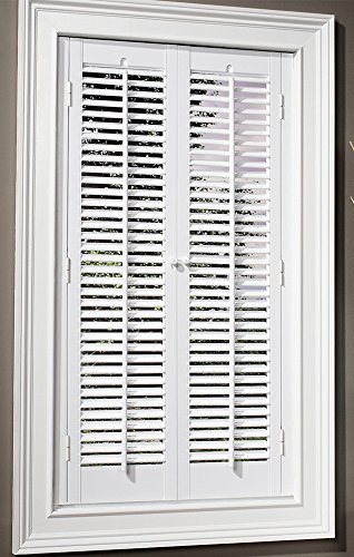 Interior wood shutter - Plantation shutters kits ...