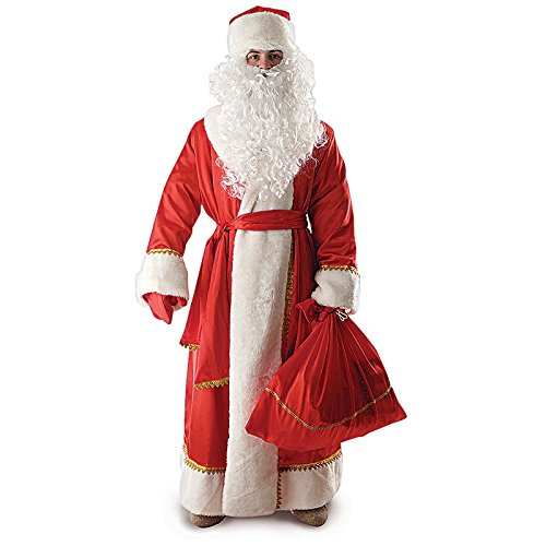 Russian Ded Moroz Costumes - Santa Claus Costume for Adults Size: