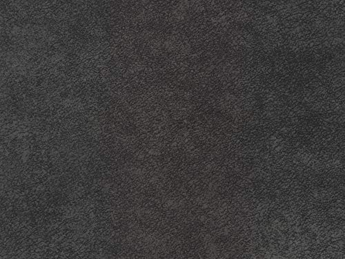 (Marina 117 Charcoal Stain Resistant Brindle Upholstery Fabric by The Yard)