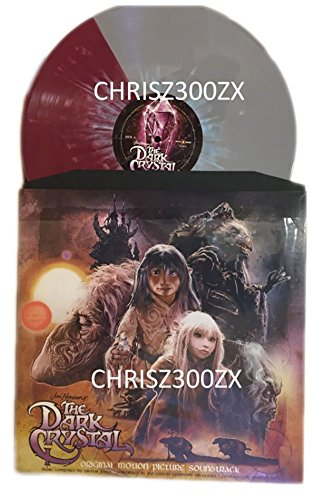The Dark Crystal 35th Anniversary Deluxe Edition Exclusive Aughra Split Vinyl Only 250 Pressings (Dark Multi Crystal)