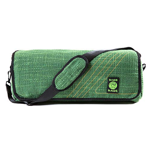 The Bully - Heavy Duty Padded Pipe/Piece Shoulder Bag & Silicone Mat (Forest) ()