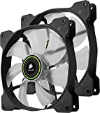 Corsair Air Series SP 140 LED Green High Static Pressure Fan Cooling - twin pack