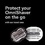 Premium Omnishaver with White Travel Case - The