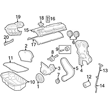 Amazon Com Mopar 5303 4081aa Engine Intake Manifold Gasket Automotive