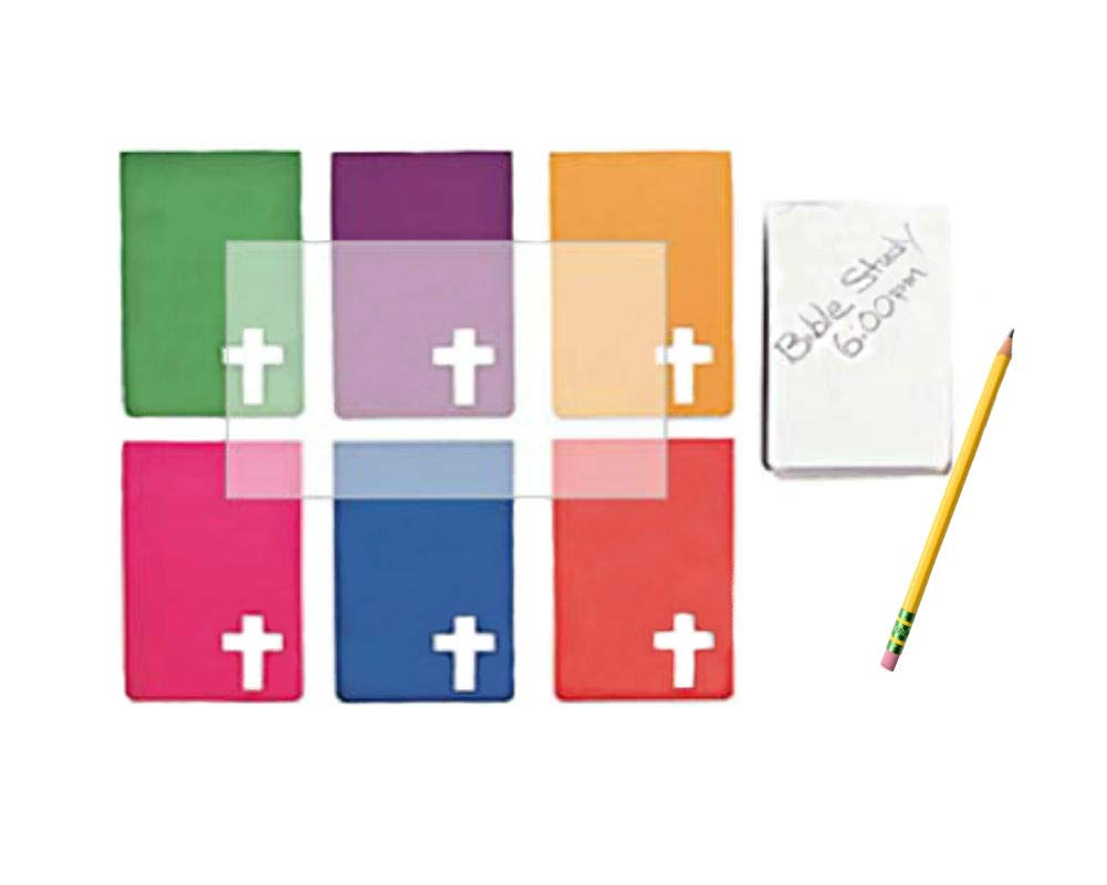 Fun Express Religious Notepads with A Cross (48-Pack)