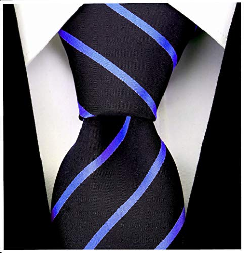 Scott Allan Collection Striped Ties for Men - Woven Necktie - Mens Ties Necktie