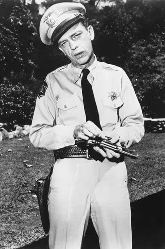 Don Knotts The Andy Griffith Show as Barney Fife 24X36 Poster at Amazons  Entertainment Collectibles Store