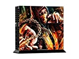 MightyStickers® PS4 Console Designer Protective Vinyl Decal Covers for Sony PlayStation 4 and Controller Skins Stickers - DC Comics Mortal Kombat X Scorpion The Killer Combat Ninja Mask