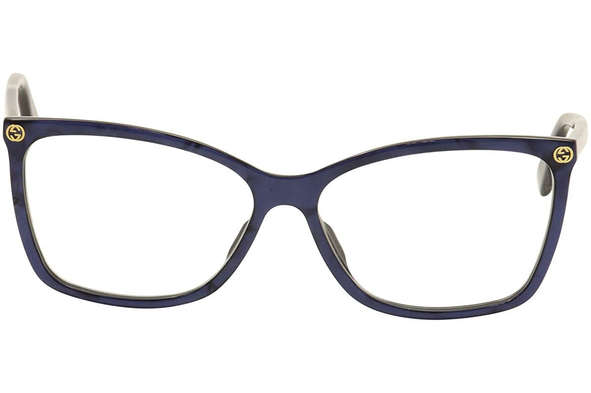 Amazon.com  Gucci GG0025O Optical Frame 002 Avana Avana 56 mm  Clothing 7b2c2ea48d2