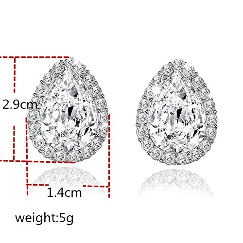 Wall of Dragon Wedding Jewelry Design Water Crystal Rhinestone Earrings Luxury Stud Earrings For Women Gift