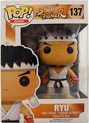 Figura Vinyl Pop! Street Fighter Ryu Limi