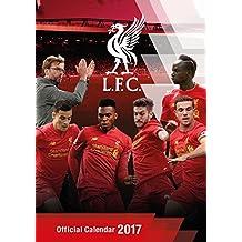 Official Liverpool 2017 A3 Wall Calendar