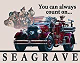 Gatsbe Exchange Seagrave Fire Engine Classic Old