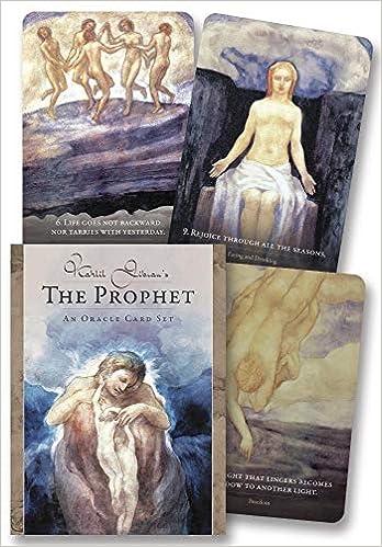 Kahlil Gibran S The Prophet An Oracle Card Set Gibran Kahlil Salerno Toni Carmine 9780738763262 Amazon Com Books
