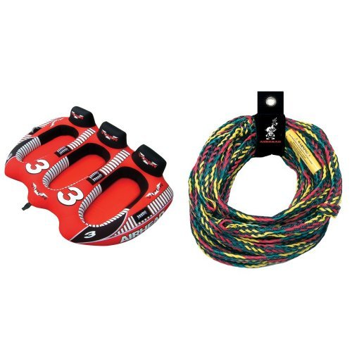 Airhead 3 Rider Viper Rope Bundle ()