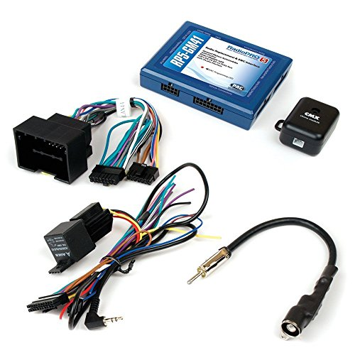 PAC RP5-GM41 Radio Replacement Interface with SWC and Navigation Outputs for Select Chevrolet Sonic/Spark Vehicles With - Retention Module Chime