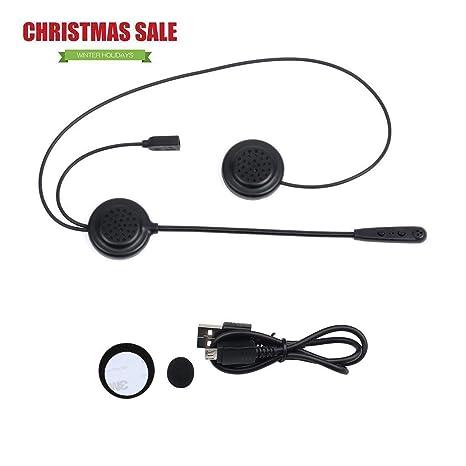 E200 casco de motocicleta auricular Bluetooth inalámbrico auriculares casco de comunicación de sistemas de comunicaciones con